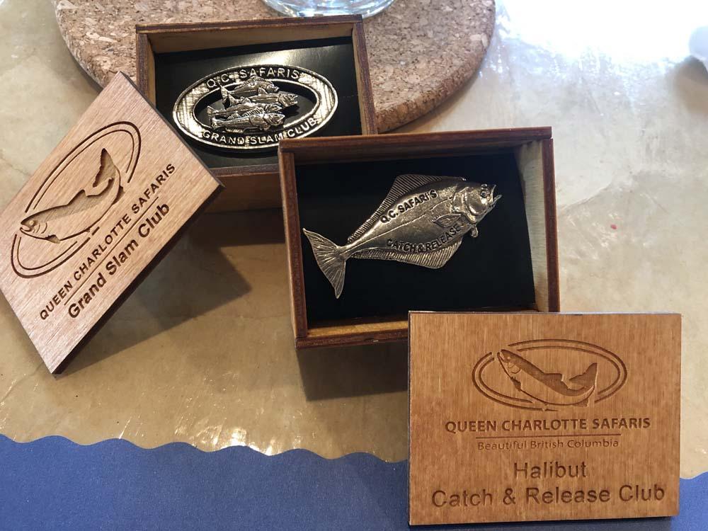 metal fishing tokens
