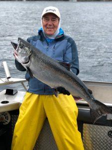 Salmon fishing resorts